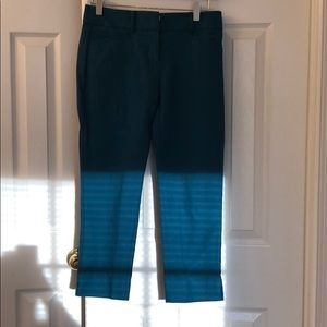Teal dress pants
